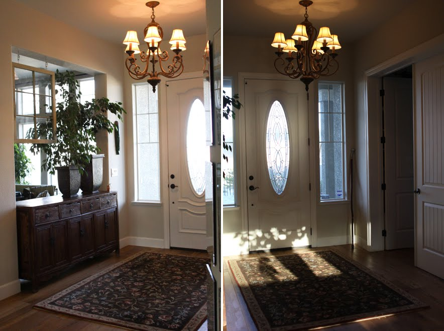 Entry Foyer Floor Plan : Welcome to my home oliveandlove